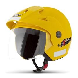 Capacete Moto Aberto Pro Tork Atomic Amarelo