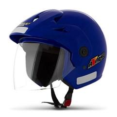 Capacete Moto Aberto Pro Tork Atomic Azul
