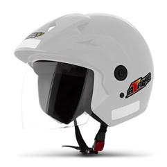 Capacete Moto Aberto Pro Tork Atomic Branco