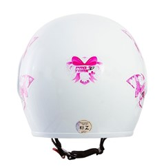 Capacete Moto Aberto Pro Tork Atomic For Girls