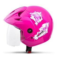 Capacete Moto Aberto Pro Tork Atomic For Girls Rosa