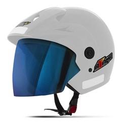 Capacete Moto Aberto Pro Tork Atomic Viseira Iridium