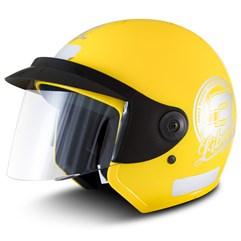 Capacete Moto Aberto Pro Tork Liberty 3 Amarelo