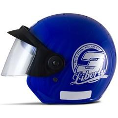 Capacete Moto Aberto Pro Tork Liberty 3 Azul