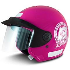 Capacete Moto Aberto Pro Tork Liberty 3 Rosa