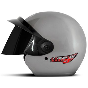 Capacete Moto Aberto Pro Tork Liberty 3 Viseira Fumê