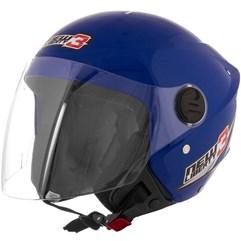 Capacete Moto Aberto Pro Tork New Liberty 3 Azul