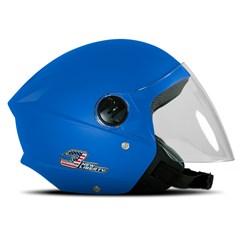 Capacete Moto Aberto Pro Tork New Liberty 3 Elite Azul Celeste