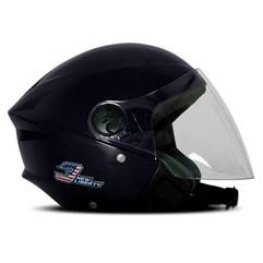 Capacete Moto Aberto Pro Tork New Liberty 3 Elite Azul Escuro