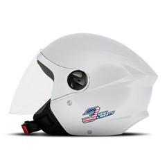 Capacete Moto Aberto Pro Tork New Liberty 3 Elite Branco