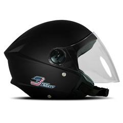 Capacete Moto Aberto Pro Tork New Liberty 3 Elite Preto Fosco