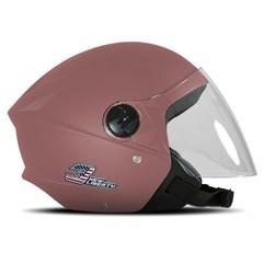 Capacete Moto Aberto Pro Tork New Liberty 3 Elite Rosa Bebe