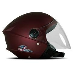 Capacete Moto Aberto Pro Tork New Liberty 3 Elite Vermelho