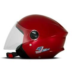 Capacete Moto Aberto Pro Tork New Liberty 3 Elite Vermelho Pimenta