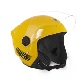 Capacete Moto Aberto Pro Tork New Liberty 3 Moto Taxi Amarelo