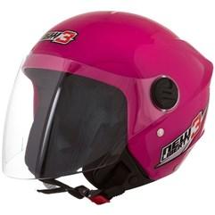 Capacete Moto Aberto Pro Tork New Liberty 3 Rosa