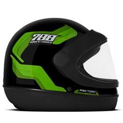 Capacete Moto Automático Pro Tork SM Sport Moto 788 Verde
