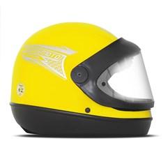 Capacete Moto Automático Pro Tork Sport Moto Amarelo