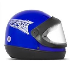 Capacete Moto Automático Pro Tork Sport Moto Azul