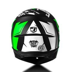 Capacete Moto Cross Trilha Infantil Jett Factory Edition Pro Tork