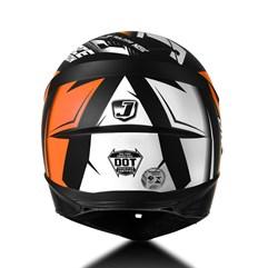 Capacete Moto Cross Trilha Infantil Jett Factory Edition Pro Tork Laranja