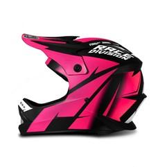 Capacete Moto Cross Trilha Infantil Jett Factory Edition Pro Tork Pink