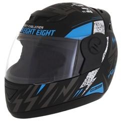 Capacete Moto Fechado Pro Tork Evolution G6 Factory Racing Azul