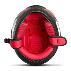 Capacete Moto Fechado Pro Tork Evolution G6 Pro Series Tech Vermelho