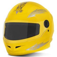 Capacete Moto Fechado Pro Tork New Liberty 4 Amarelo
