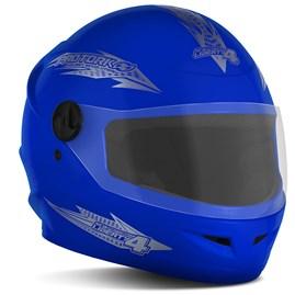 Capacete Moto Fechado Pro Tork New Liberty 4 Azul