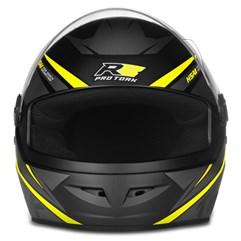 Capacete Moto Fechado Pro Tork R8 Amarelo