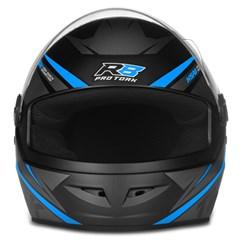 Capacete Moto Fechado Pro Tork R8 Azul Claro