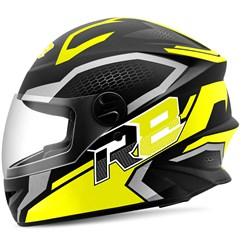Capacete Moto Fechado R8 Air Pro Tork Fosco Amarelo