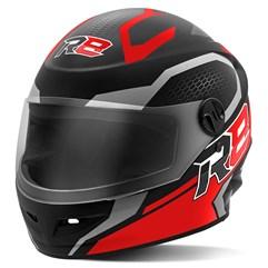 Capacete Moto Fechado R8 Air Pro Tork Fosco Vermelho