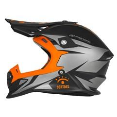 Capacete Moto Motocross Fast Rally dos Sertões Fosco