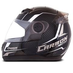 Capacete Moto Pro Tork 788 G5 Carbon Evo Preto/Cinza