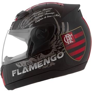 Capacete Moto Pro Tork Evolution G4 Flamengo