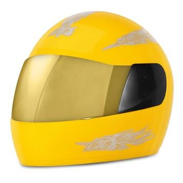 Capacete Moto Pro Tork Liberty 4 Viseira Dourada