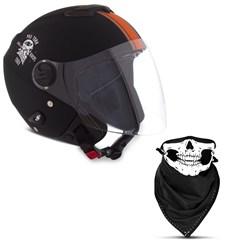 Capacete Moto Pro Tork New Atomic Skull Riders