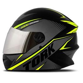 Capacete Moto Pro Tork R8 Viseira Cromada