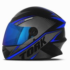 Capacete Moto Pro Tork R8 Viseira Iridium