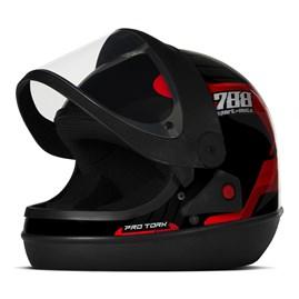 Capacete Moto Pro Tork Sport Moto 788 Automático