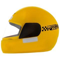 Capacete Moto Táxi Pro Tork Liberty X Amarelo