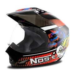 Capacete Moto TH1 Vision NOS Pro Tork