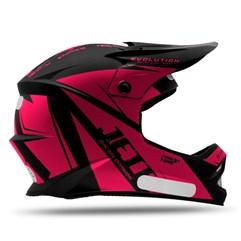 Capacete Motocross Infantil Jett Evolution Pink