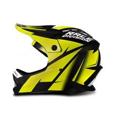 Capacete Motocross Infantil Jett Factory Edition Amarelo