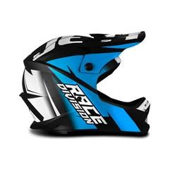 Capacete Motocross Infantil Jett Factory Edition Azul