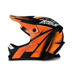Capacete Motocross Infantil Jett Factory Edition Laranja