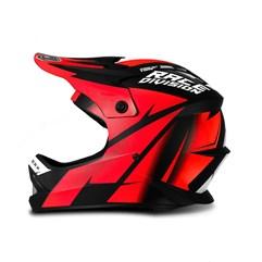Capacete Motocross Infantil Jett Factory Edition Vermelho
