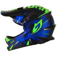 Capacete Motocross Infantil Pro Tork CK-01 Preto/Azul